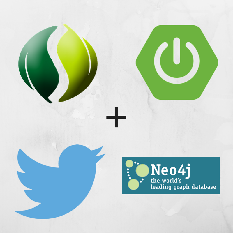 processing twitter feed using spring boot